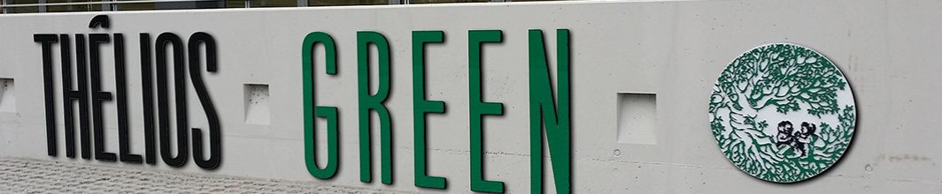 Insegna Thelios Green